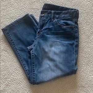 Lucky Brand Sweet Jean Crop